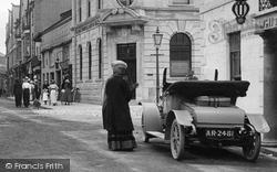 Okehampton, Motor Car, Fore Street 1912