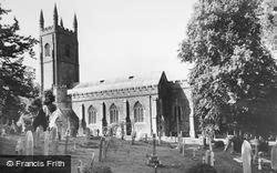 Parish Church c.1955, Okehampton