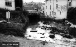 River And Bridge c.1965, Okehampton