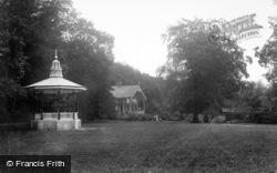 Simmons Park, Bandstand And Chalet Treloar 1912, Okehampton
