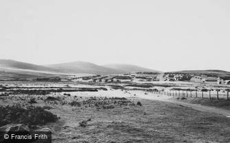 Okehampton, Southern Command Battle Camp and Tors c1965