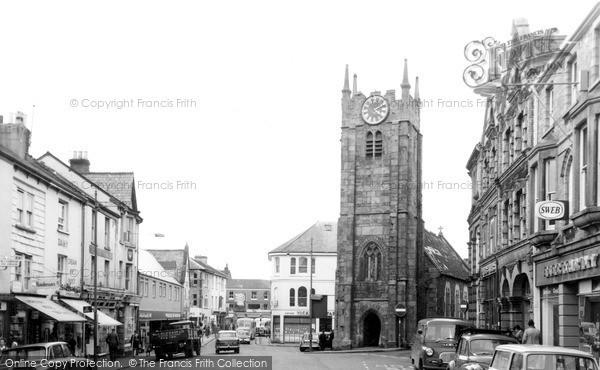 Okehampton, St James' Church 1968