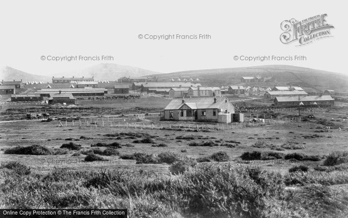 Photo of Okehampton, the Camp 1900