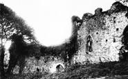 Okehampton, the Castle 1890