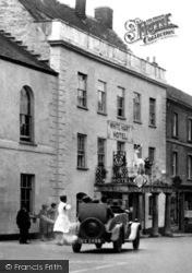 The White Hart Hotel 1929, Okehampton