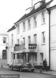 White Hart Hotel c.1965, Okehampton