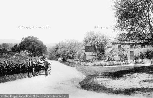 Oakwood Hill, Sent and Rydersfield Cottages 1906