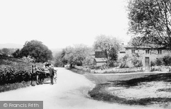 Sent And Rydersfield Cottages 1906, Okewood Hill