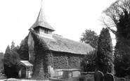 Oakwood Hill, the Church  1906