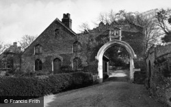 Old Basing, The Gateway, Basing House c.1955