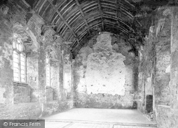 Abbey, Refectory 1913, Old Cleeve