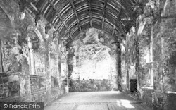 Old Cleeve, Abbey, Refectory Interior c.1875