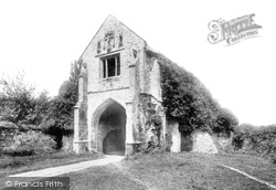 Abbey, The Gate 1890, Old Cleeve