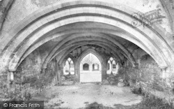 Cleeve Abbey, Chapter House 1890, Old Cleeve