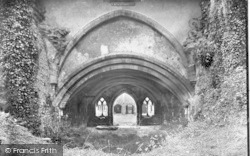Old Cleeve, Cleeve Abbey, Chapter House 1919