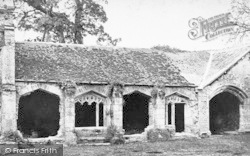 Old Cleeve, Cleeve Abbey, Cloisters c.1871