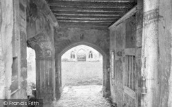 Old Cleeve, Cleeve Abbey, Entrance Gate 1919