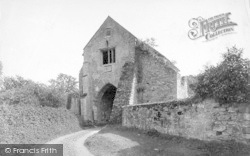 Old Cleeve, Cleeve Abbey, Gateway 1913