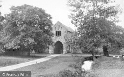 Cleeve Abbey, Gateway 1913, Old Cleeve