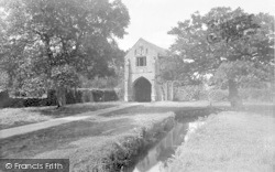 Old Cleeve, Cleeve Abbey, Gateway 1935
