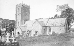 Cleeve Abbey, Old Church 1906, Old Cleeve