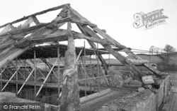 Cleeve Abbey Roof c.1940, Old Cleeve