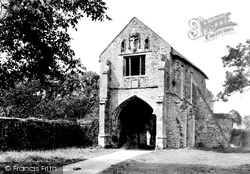 Cleeve Abbey, The Gatehouse 1935, Old Cleeve