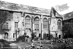 Cleeve Abbey, The Refectory 1890, Old Cleeve