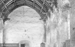 Old Cleeve, Cleeve Abbey, The Refectory 1938