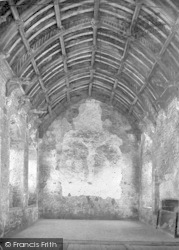 Cleeve Abbey, The Refectory 1938, Old Cleeve
