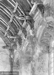 Cleeve Abbey, The Refectory Roof 1938, Old Cleeve