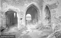Old Cleeve, Cleeve Abbey, The Slype 1919