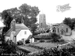 St Andrew's Church And Cottage 1930, Old Cleeve