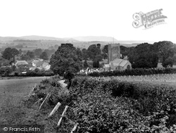 The Church And Village 1930, Old Cleeve