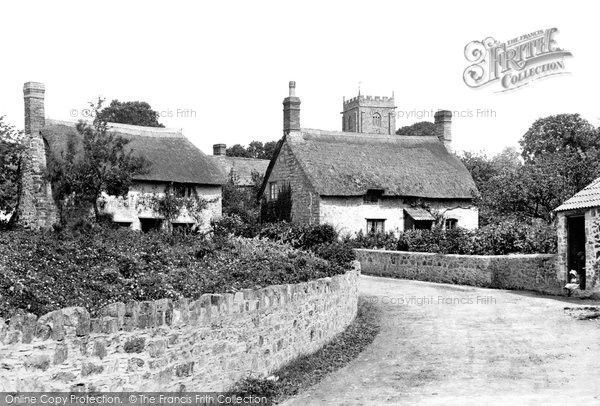 Photo of Old Cleeve, Village 1906