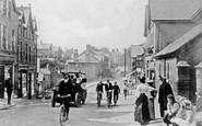 Old Colwyn, Abergele Road 1908