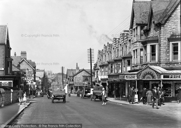 Photo of Old Colwyn, Abergele Road 1933