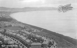 Old Colwyn, And Colwyn Bay c.1933