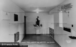Sacred Heart Church, Front Corridor And Baptistry c.1955, Old Colwyn