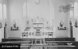 Sacred Heart Church Interior, St Augustine's Priory c.1955, Old Colwyn