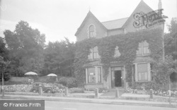Old Colwyn, Sunshine Cafe c.1939