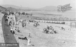 Old Colwyn, The Beach c.1933
