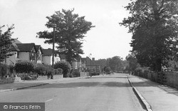 Coulsdon Road c.1955, Old Coulsdon