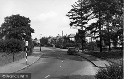 Placehouse Lane c.1955, Old Coulsdon