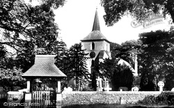 St John's Church And Lychgate 1906, Old Coulsdon