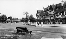 The Parade c.1960, Old Coulsdon