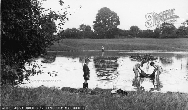 Photo of Old Coulsdon, The Pond c.1955