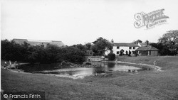 The Pond c.1960, Old Coulsdon