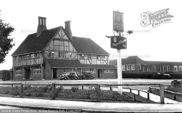 Photo of Old Coulsdon, the Tudor Rose c1955