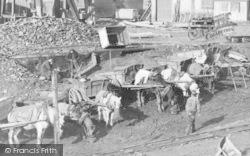 Feeding The Horses, Haden Hill Colliery c.1890, Old Hill
